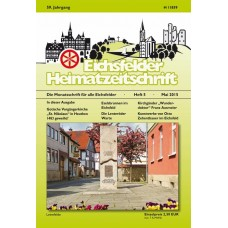 Eichsfelder Heimatzeitschrift, Heft 5, Mai 2015