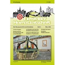 Eichsfelder Heimatzeitschrift, Heft 3, März 2016
