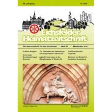 Eichsfelder Heimatzeitschrift, Heft 11, November 2016