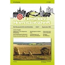 Eichsfelder Heimatzeitschrift, Heft 9, September 2016