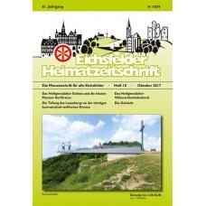 Eichsfelder Heimatzeitschrift, Heft 10, Oktober 2017