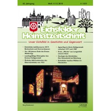 Eichsfelder Heimatzeitschrift, Heft 11-12, 2018
