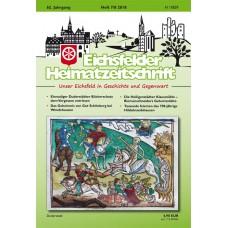 Eichsfelder Heimatzeitschrift, Heft 7-8, 2018