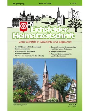 Eichsfelder Heimatzeitschrift, Heft 5-6, 2019