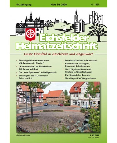 Eichsfelder Heimatzeitschrift, Heft 5-6, 2020