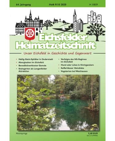 Eichsfelder Heimatzeitschrift, Heft 9-10, 2020