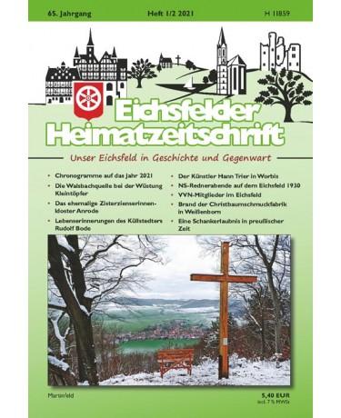 Eichsfelder Heimatzeitschrift, Heft 1-2, 2021