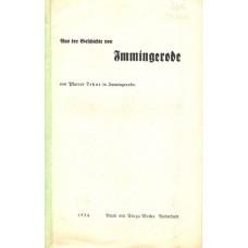 Aus der Geschichte von Immingerode