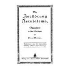 Die Zerstörung Jerusalems