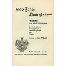 1000 Jahre Duderstadt. Geschichte der Stadt Duderstadt