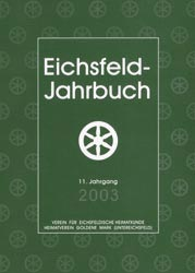 Cover - Jahrbuch 2003