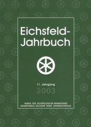 Cover - Jahrbuch 2003