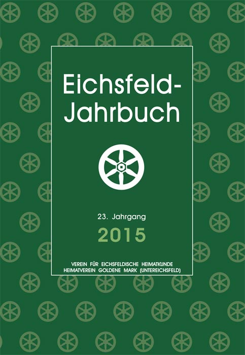 Cover - Jahrbuch 2015
