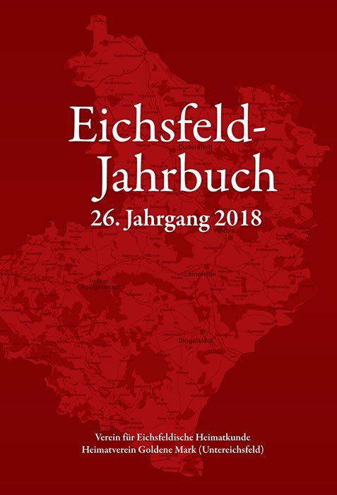 Cover - Jahrbuch 2018